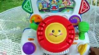 Fisher Price Rumble and Learn Driver MOV   YouTube