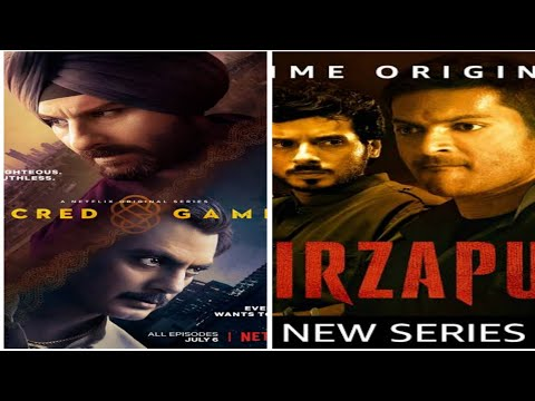 HOW TO WATCH SACRED GAMES AND MIRZAPUR IN FREE