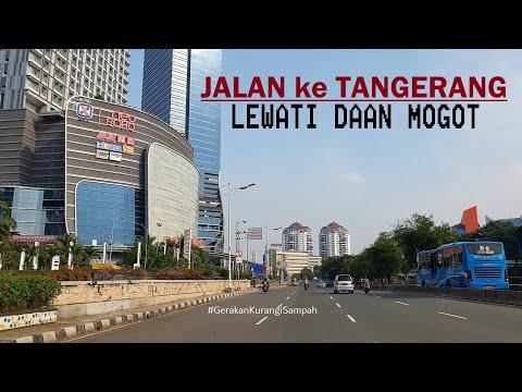 ⁴ᴷ⁶⁰ Driving Around ~ from Taman Anggrek ~ Grogol ~ Jalan Daan Mogot Jakarta ~ Terminal Kalideres