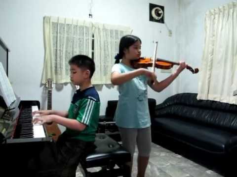 sad romance violin piano