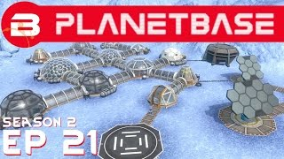 PlanetBase - ...But So Far !! - Ep 21 (Space Survival Strategy Gameplay)
