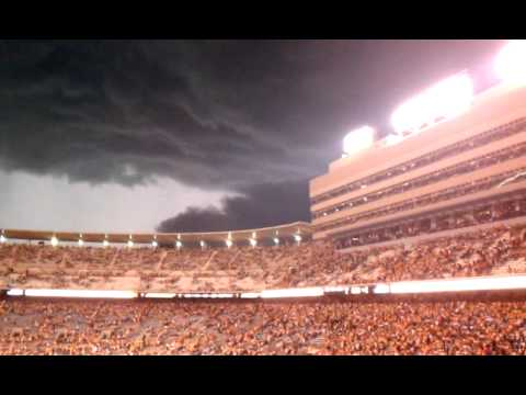 Storm at Neyland Stadium