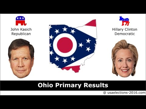 Ohio Primary Result 2016 : US Election 2016