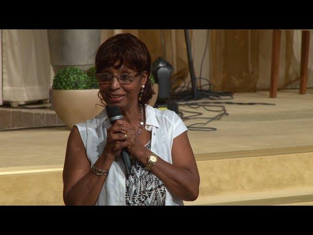 8 Juli 2018 Söndagsmöte med Abeba Russom