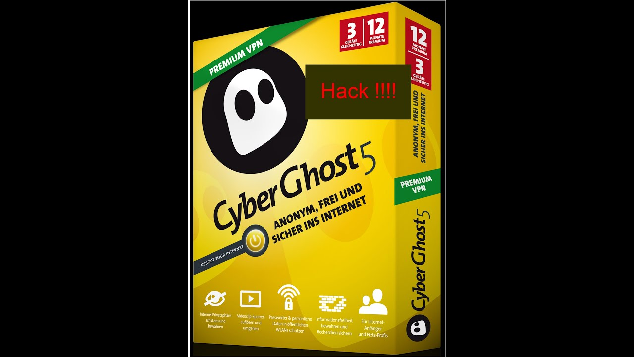Cyber ghost 5.5 premium vpn hack by RRex!! - YouTube