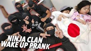 Ninja Clan Wake Up Prank!! (Japan Trip) | Ranz and Niana