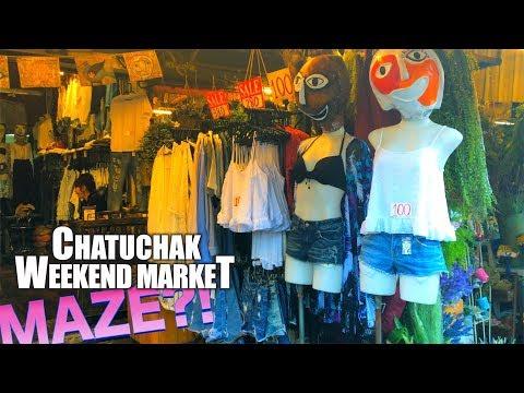 Chatuchak Weekend Market / Like a MAZE!
