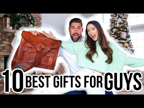 10 BEST Gifts for GUYS! *Mens Gift Guide 2019*