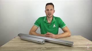 [Produktvideo] SanLight S4W und S2W: hochwertige streifenförmige LED-Pflanzenlampen