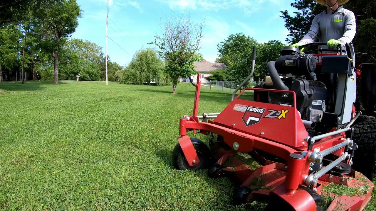 Mowing Bi-weekly Lawns