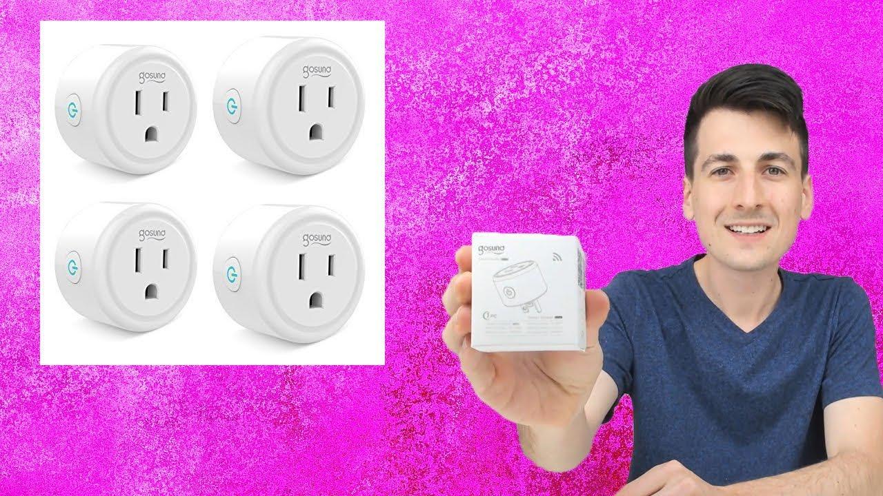 Gosund Smart Plug Review w/ Smart Life App Setup | WiFi Smart Plug