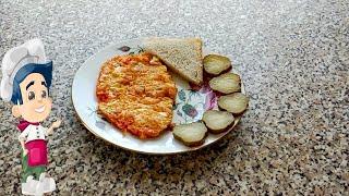 Быстрый Завтрак из Яиц.  Яичница на Сливочном Масле