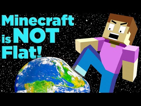 The Final Proof That Minecraft ISN'T FLAT!   The SCIENCE Of... Minecraft