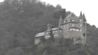 Katz Castle on Rhine River Germany