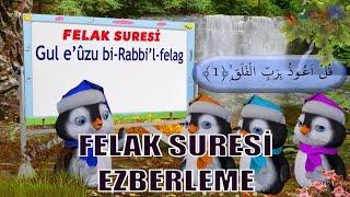 Felak Suresi  Felak Suresi Ezberleme   Çocuklar için Namaz Sureleri  Surah Al-Falaq  Didiyom Tv