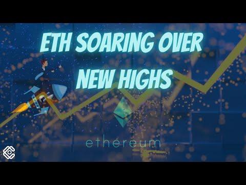 ETH SOARING OVER NEW HIGHS! #ethereum #crypto #bullrun