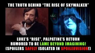 THE RISE OF SKYWALKER LAME BEYOND BELIEF! (POTENTIAL SPOILERS!)