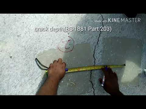 Crack Depth(BS 1881 Part 203)
