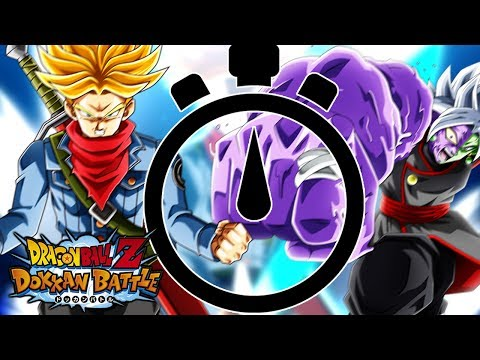50 STAMINA EVENT TIME TRIAL! CAN YOU BEAT THE TIME?! Dragon Ball Z Dokkan Battle