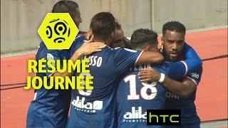 Résumé de la 1ère journée - Ligue 1 / 2016-17