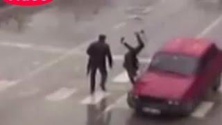 Adana'da feci kazalar kamerada