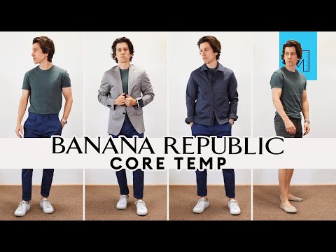 AWESOME Travel Clothes | Banana Republic Core Temp Haul and Try-On
