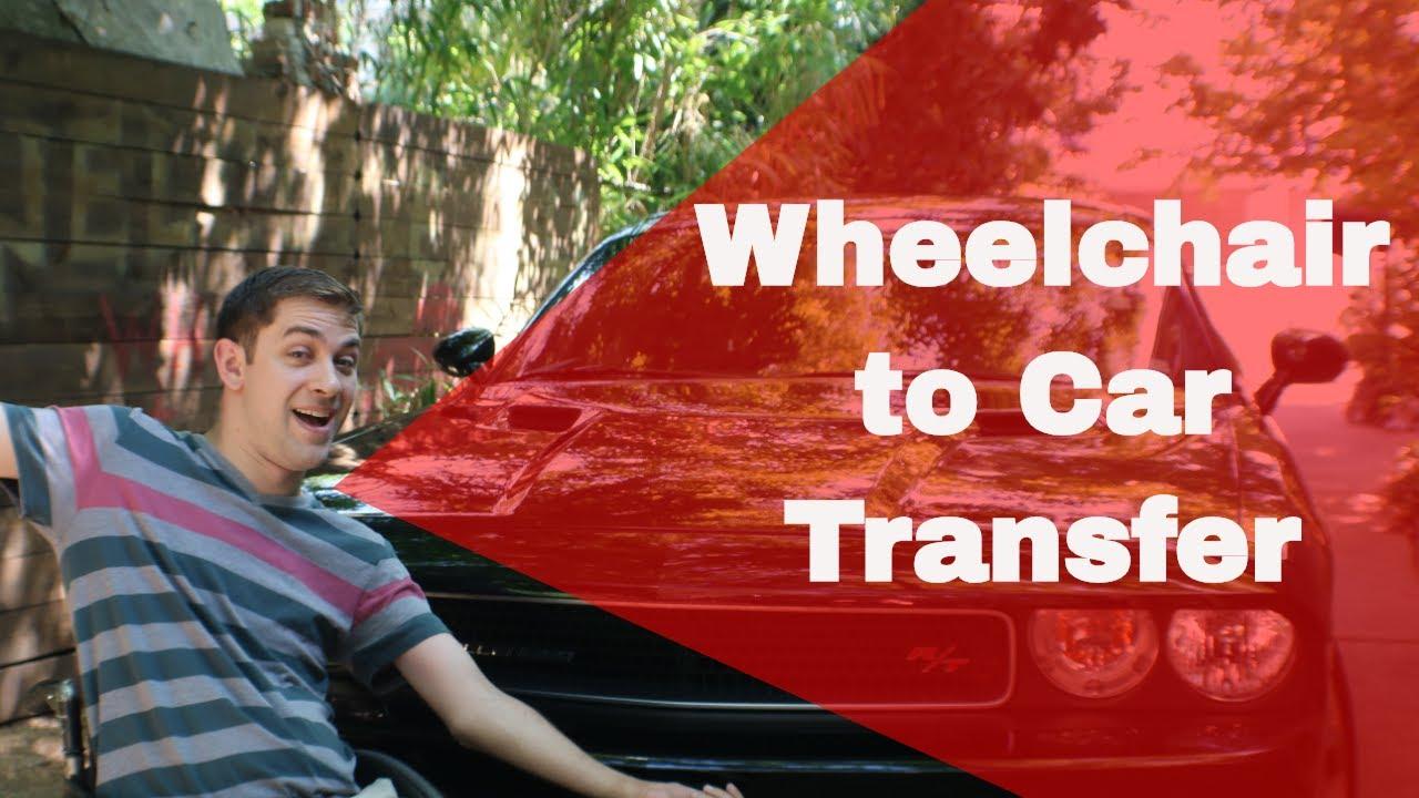 Quadriplegic Car Transfer with Wheelchair | Jeff Butler Disability 101