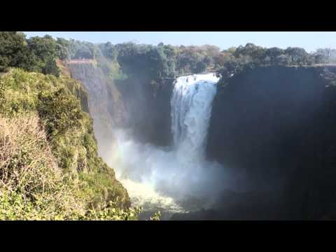 Stunning Victoria Falls in #Zimbabwe #Africa