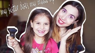 Моя сестра делает мне макияж ❤ my sister does my make up! ❤(, 2016-03-15T16:47:22.000Z)