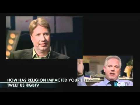 """Glenn Beck talks God & Politics w/ Pastor Robert Morris @ Gateway Church """"The Blessed Life"""" on GBTV"""