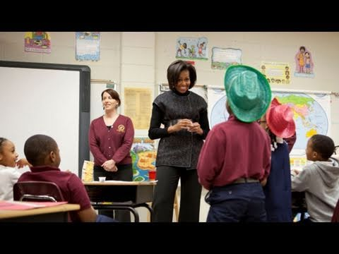 Travels with The First Lady: Lets Move! Launch Anniversary