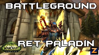 Zukon | Legion Ret Paladin Battleground 850+ iLvl | WoW PvP 7.0.3