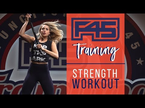 F45 TRAINING | Strength Workout