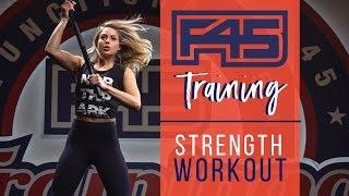 F45 TRAINING   Strength Workout   MKatz