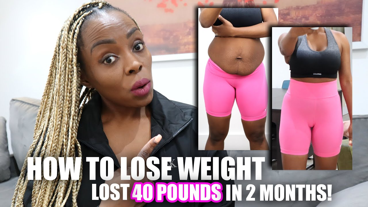 HOW TO LOSE WEIGHT FAST! 112 Pounds In 12 MONTHS! (GETTING STARTED)