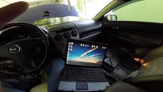 Аварийный режим автоматической коробки Mazda 6 ошибка p0753