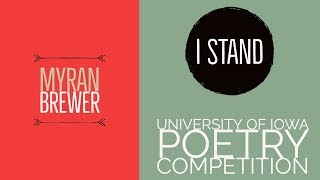 """Gambar cover """"I Stand"""" Performed by Myran Brewer"""