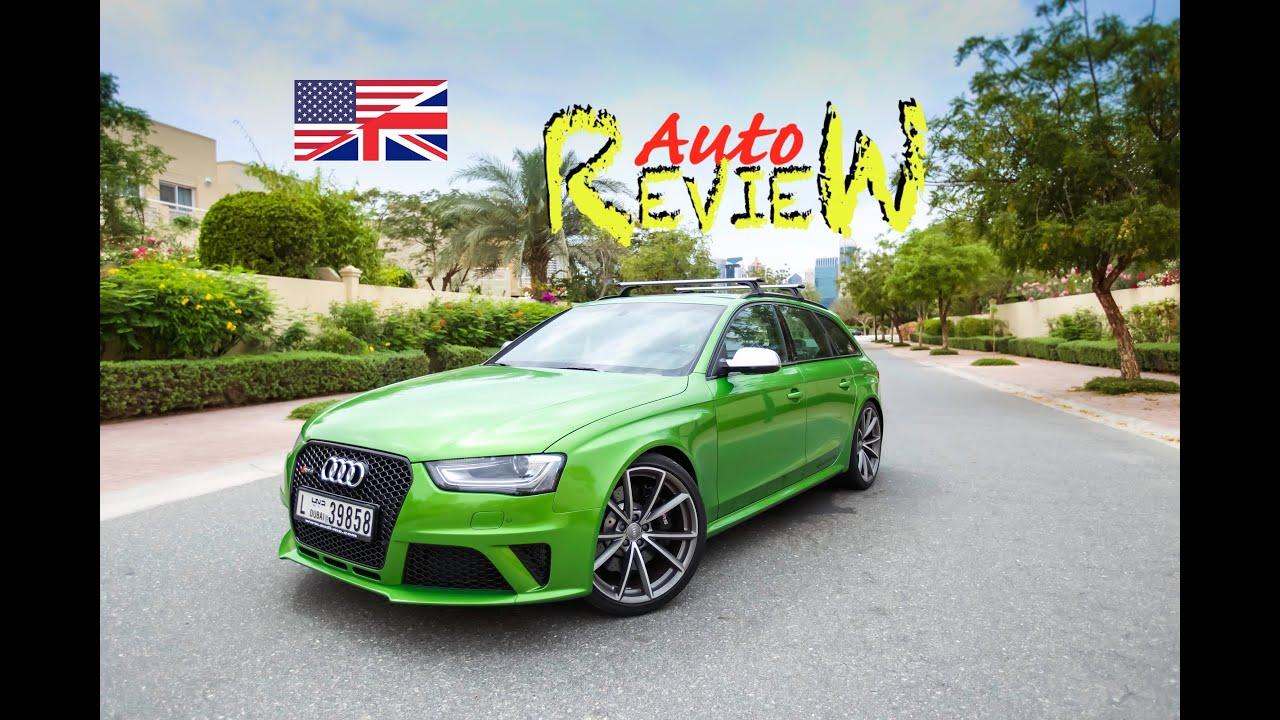 2015 Audi Rs4 Avant 4 2 Fsi Quattro S Tronic Autoreview