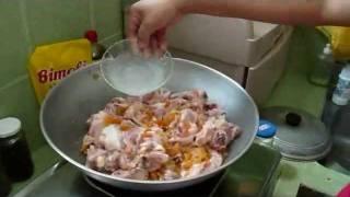 Ellen's Spicy Chicken Adobo