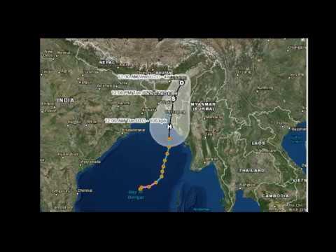 Cyclone 'mora' live update