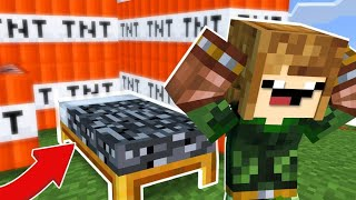 CAMA IMPOSSIVEL DE DESTRUIR | BED WARS MINECRAFT