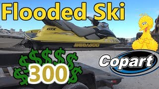 Download I Bought A Flooded JetSki at Copart For $300 Can I Rebuild it? Mp3 and Videos