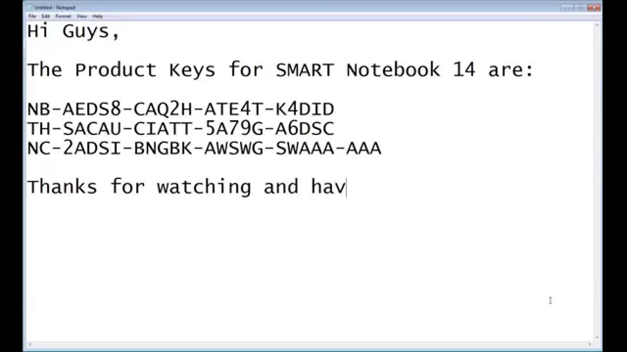 download smart board software with product key