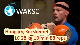 LongCycle 28 kg 10 min 88 reps (World Kettlebell Grand Prix Series)