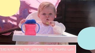 BREAKFAST IN THE GARDEN | THE THOMAS WAY