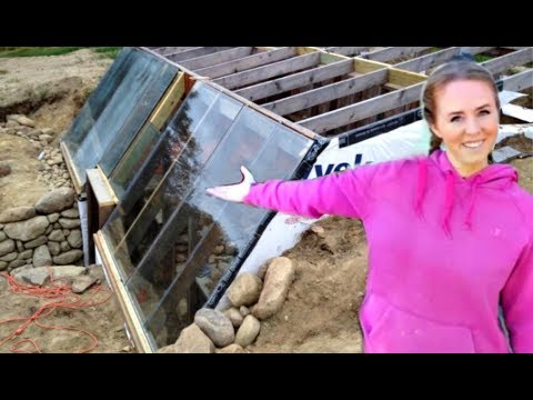 $20,000 Underground Winter Greenhouse