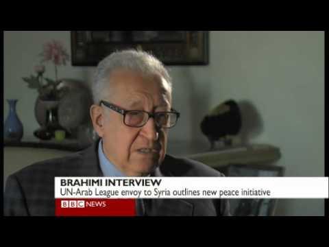 LAKHDAR BRAHIMI INTERVIEW BBC WORLD NEWS