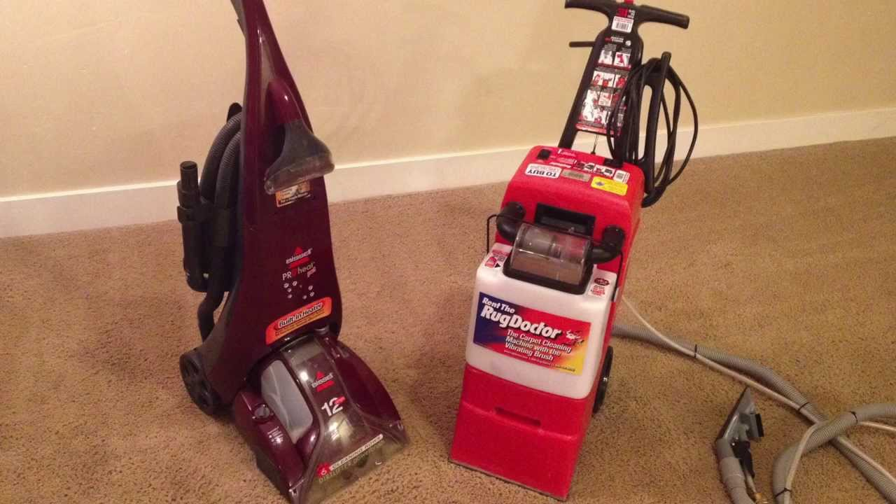 review the rug doctor carpet cleaner - youtube