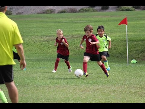 6 year old soccer kid. Crazy goals, amazing speed.  Isa Mulic