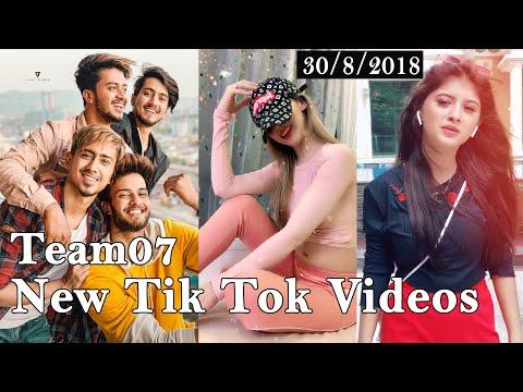 Team 07 Latest Tik Tok Comedy Video, Mr Faisu New Tik Tok Video, Hasnain Adnaan Saddu Faiz TikTok13